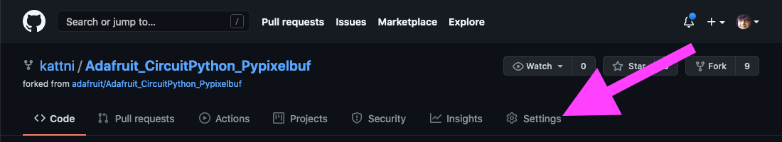 circuitpython_Fork_settings.png