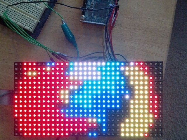 New Project | FPGA RGB Matrix | Adafruit Learning System