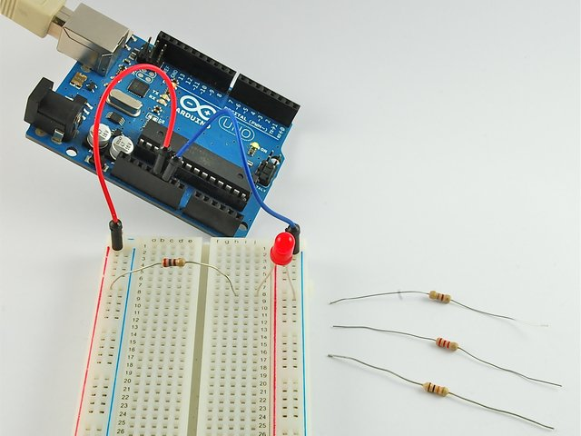 Blinking the LED | Arduino Lesson 2  LEDs | Adafruit