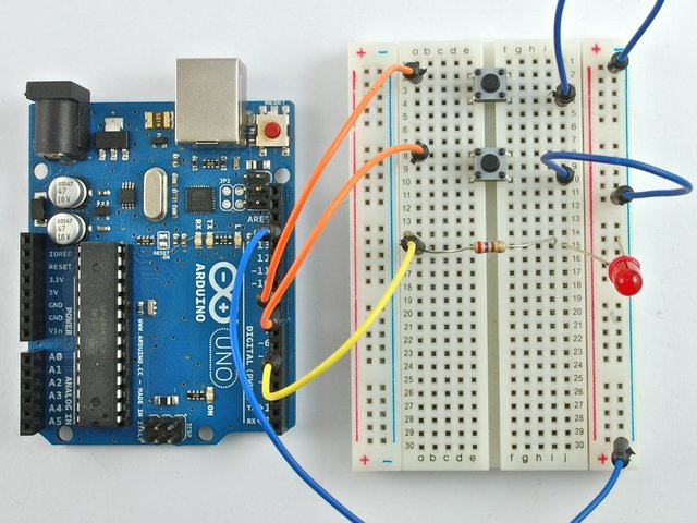 Push Switches | Arduino Lesson 6. Digital Inputs | Adafruit Learning on