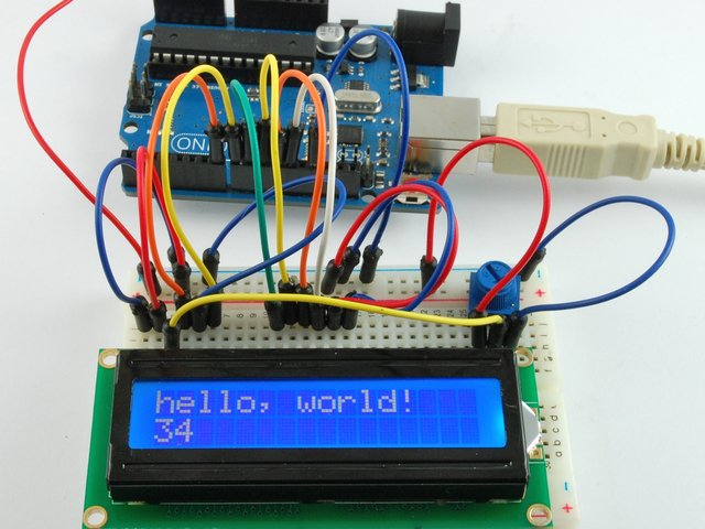 Arduino Code | Arduino Lesson 11  LCD Displays - Part 1 | Adafruit
