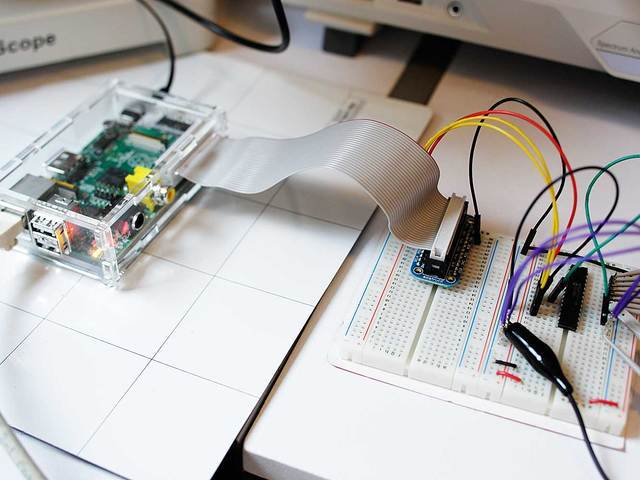 Using the library   MCP230xx GPIO Expander on the Raspberry