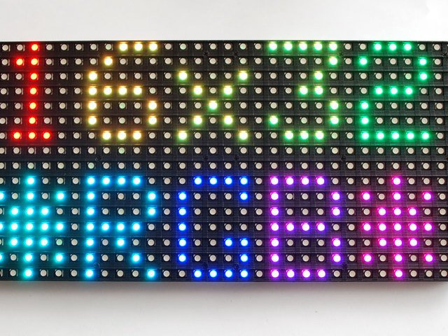 Overview | 32x16 and 32x32 RGB LED Matrix | Adafruit