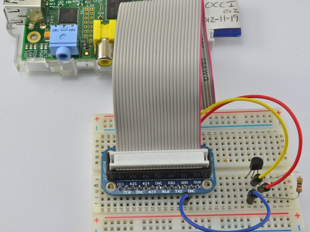 Hardware | Adafruit's Raspberry Pi Lesson 11  DS18B20 Temperature