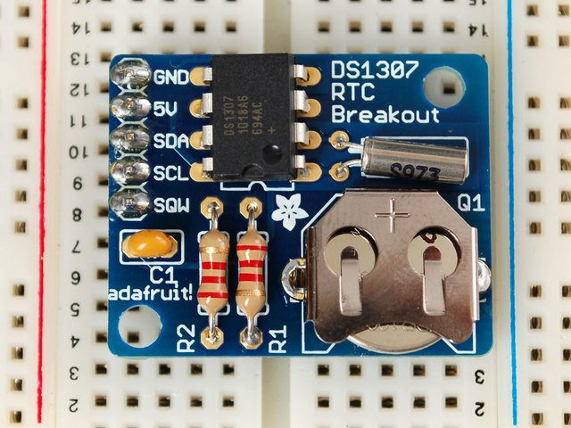 Arduino Library | DS1307 Real Time Clock Breakout Board Kit