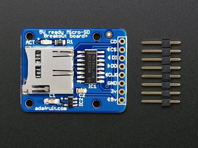 Introduction | Micro SD Card Breakout Board Tutorial