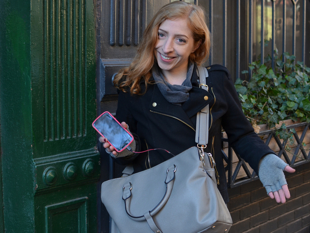 Cell Phone Charging Purse