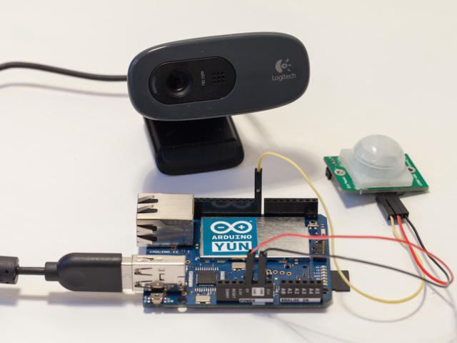 Introduction | Wireless Security Camera with the Arduino Yun