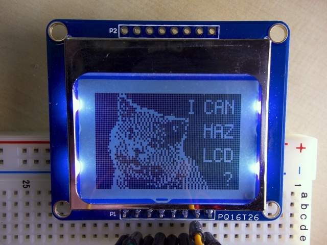 Overview | Nokia 5110/3310 LCD Python Library | Adafruit