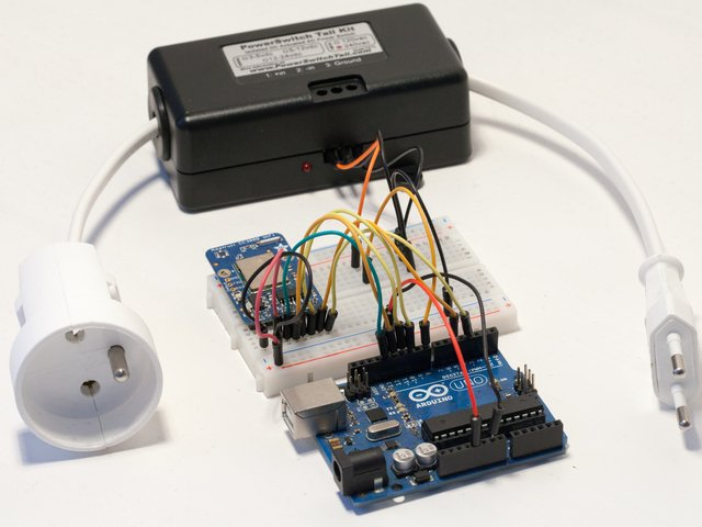 Introduction   Wireless Power Switch with Arduino & the