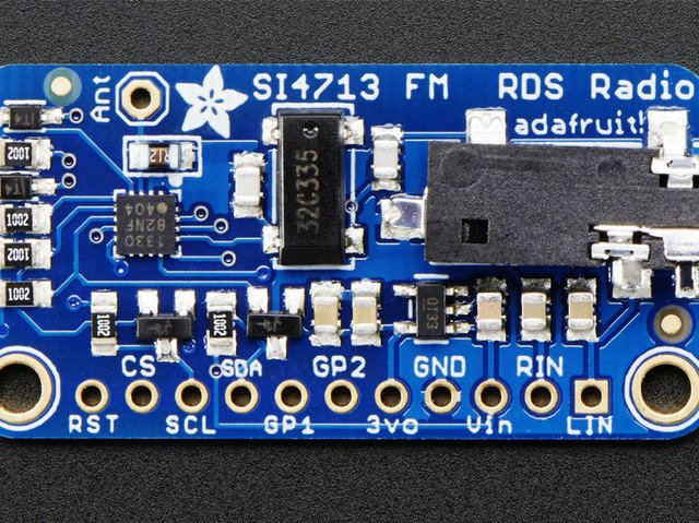 Overview | Adafruit Si4713 FM Radio Transmitter with RDS/RDBS
