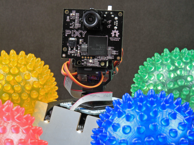 Overview and Materials | Pixy Pet Robot - Color vision follower