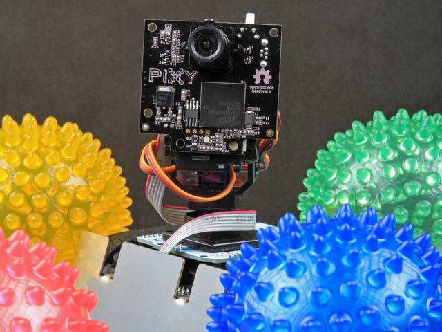 Feedback Control Basics | Pixy Pet Robot - Color vision follower