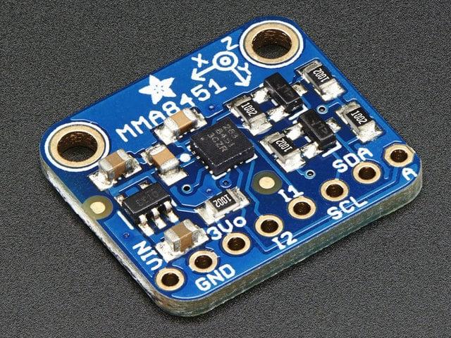 Python & CircuitPython | Adafruit MMA8451 Accelerometer