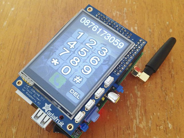 Overview | PiPhone - A Raspberry Pi based Cellphone