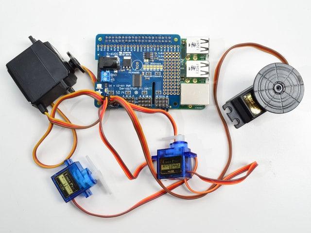 Overview | Adafruit 16-Channel PWM/Servo HAT & Bonnet for