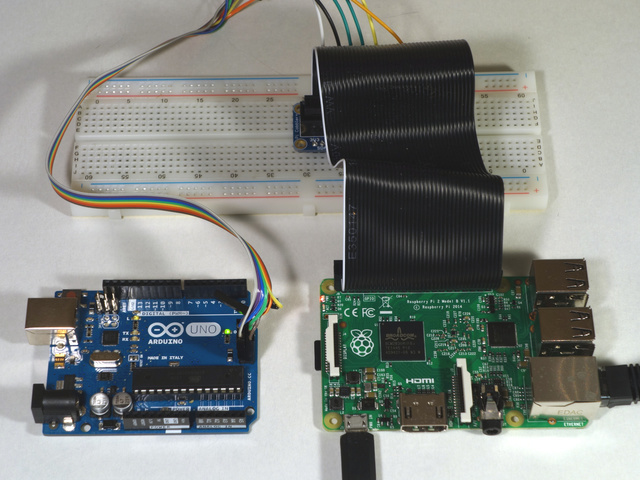 Configuration program an avr or arduino using raspberry pi gpio
