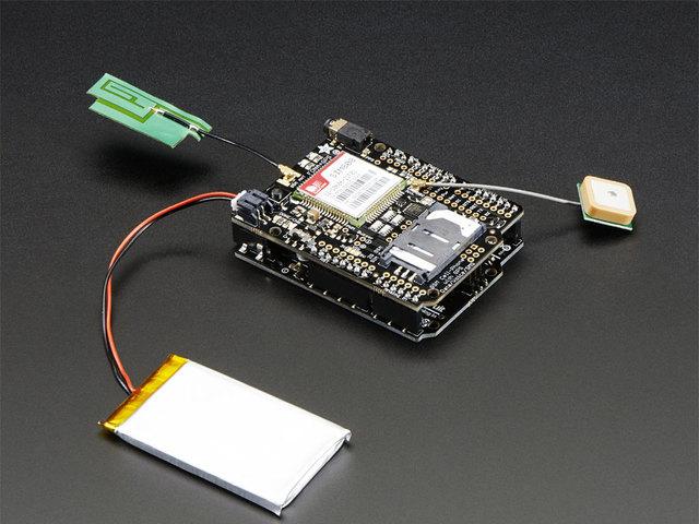 Downloads | Adafruit FONA 808 Cellular + GPS Shield for