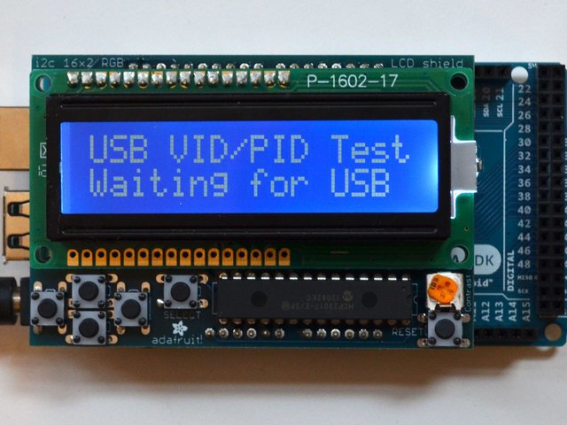 Let's do this thing   Simple Arduino-based USB VID & PID