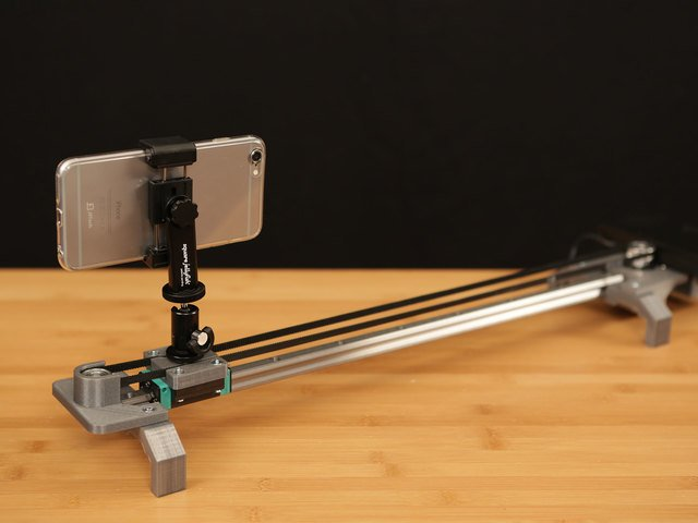 Bluetooth Controlled Motorized Camera