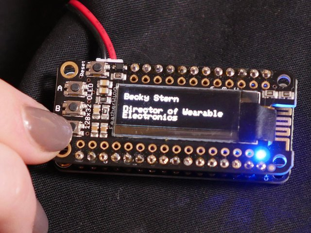 Adafruit IO and IFTTT Setup | WiFi OLED Display Badge