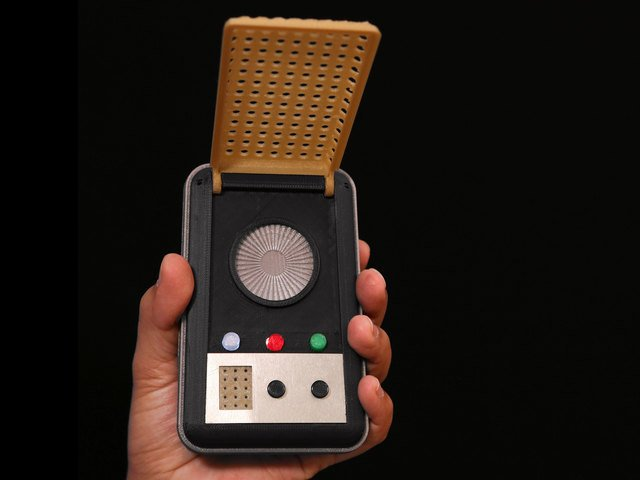 Circuit Diagram | 3D Printed Star Trek Communicator