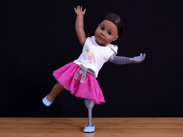 Overview Diy Custom American Girl Doll Prosthetics Adafruit Learning System