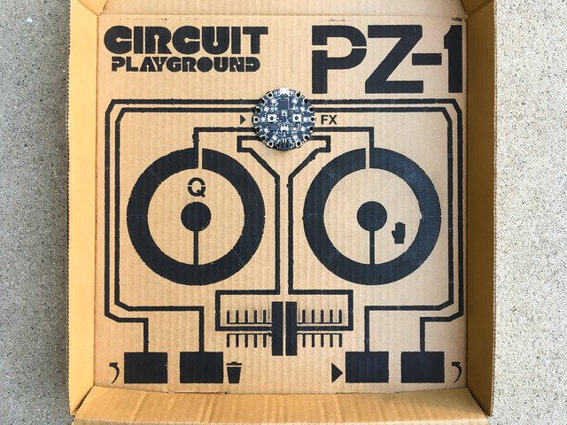 Overview | Circuit Playground PZ-1: Pizza Box DJ Controller
