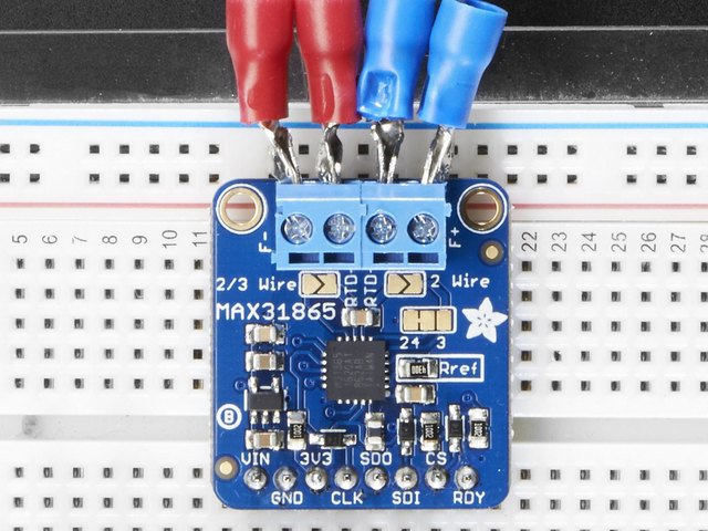 Arduino Code | Adafruit MAX31865 RTD PT100 or PT1000 Amplifier