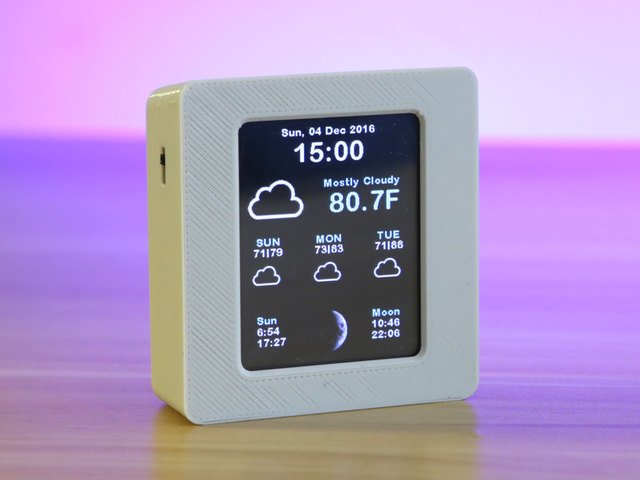 Overview | ESP8266 WiFi Weather Station with Color TFT