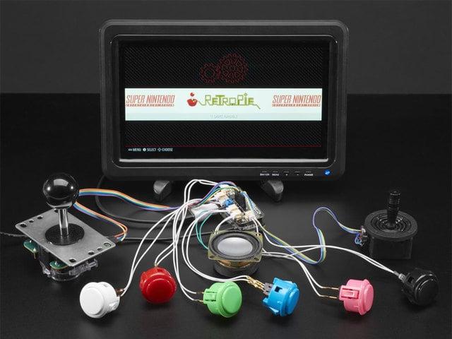 Introduction Adafruit Arcade Bonnet For Raspberry Pi Adafruit