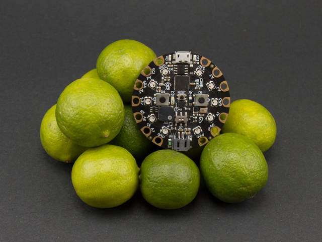 Piano in the Key of Lime | Circuit Playground Express: Piano