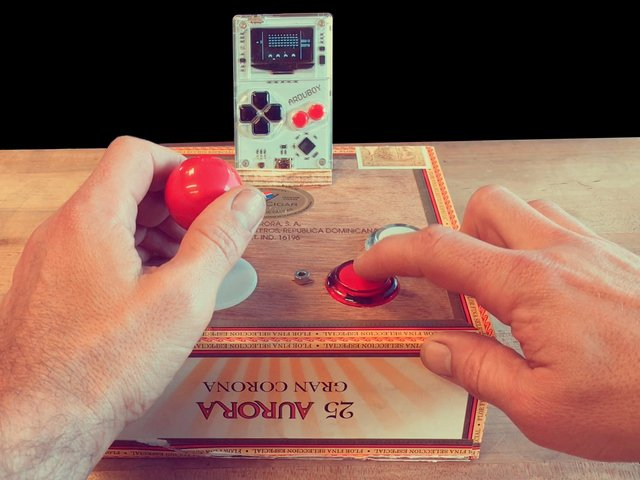 Build and Assemble the Cabinet | Arduboy Game Controller Hack