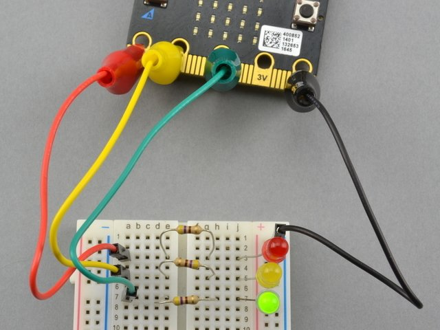 Overview | micro:bit Lesson 2  Controlling LEDs on