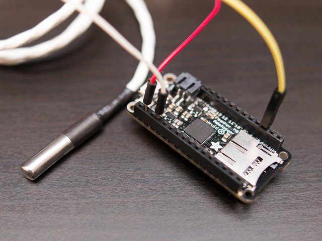 CircuitPython | Using DS18B20 Temperature Sensor with CircuitPython