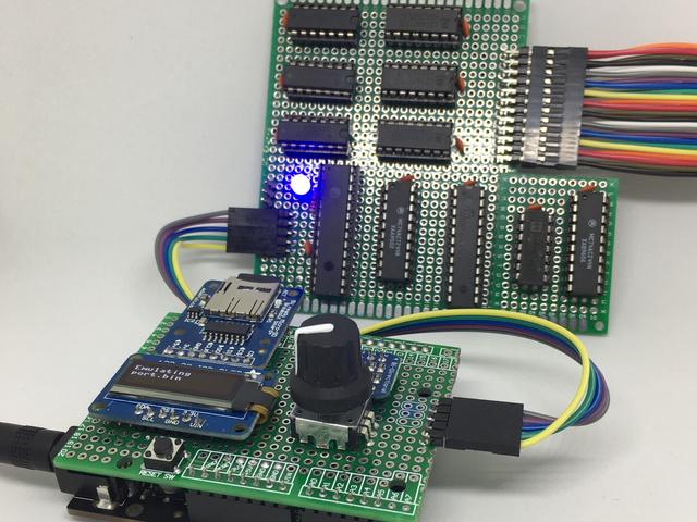 Overview | Digital Circuits 6: An EPROM Emulator | Adafruit