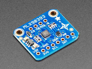 MLX90393 Wide-Range 3-Axis Magnetometer