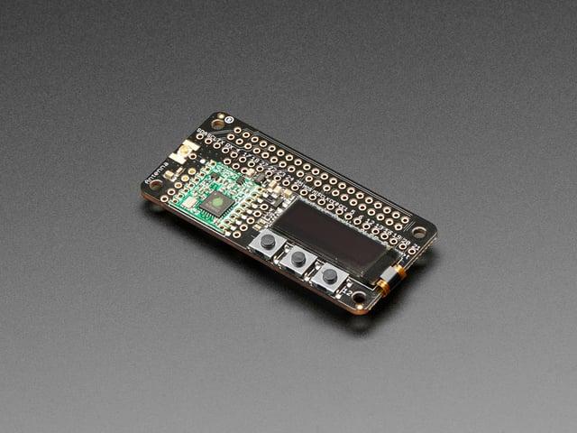 Sending Data with LoRa | Adafruit Radio Bonnets with OLED