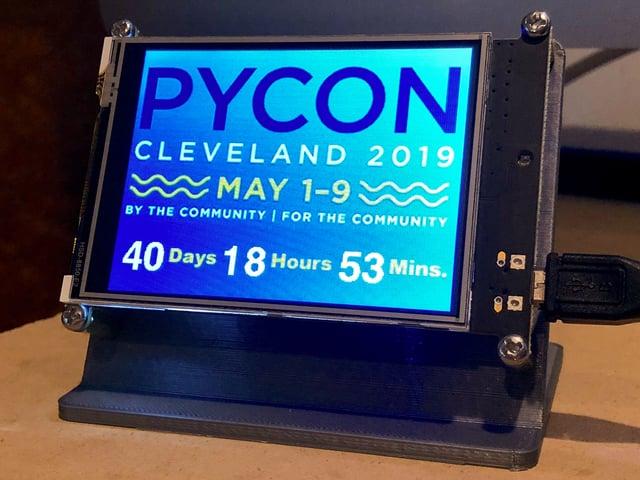 Code PyPortal with CircuitPython | PyPortal Event Countdown Clock