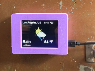 PyPortal Weather Station