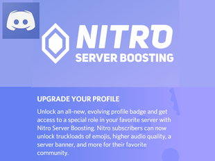 Adding Nitro Boost to your Discord Account