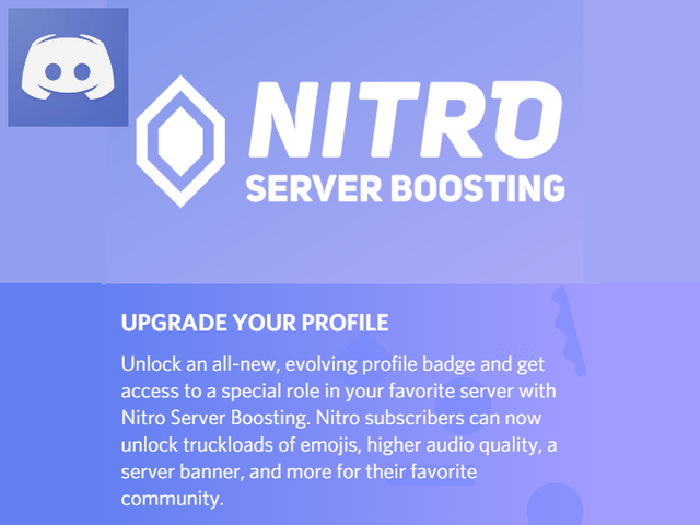 Overview and Steps | Adding Nitro Boost to your Discord