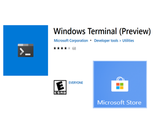 Installing and Using the Windows Terminal Preview Edition