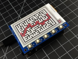ePaper Maze Maker