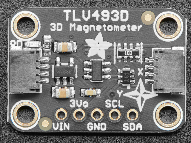 Overview | Adafruit TLV493 Triple-Axis Magnetometer