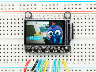 "Adafruit 1.14"" 240x135 Color TFT Breakout LCD Display"
