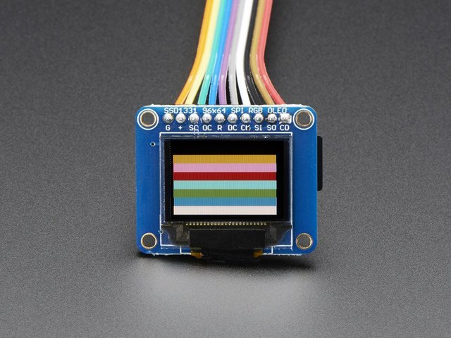 "0.96"" mini Color OLED"