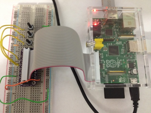 Playing sounds and using buttons with Raspberry Pi