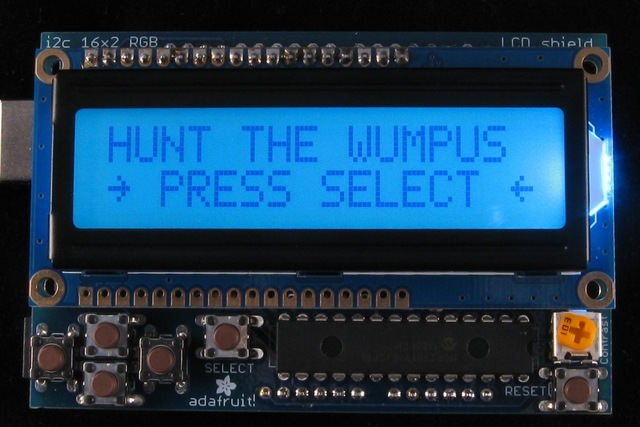"Arduino ""Hunt The Wumpus"""