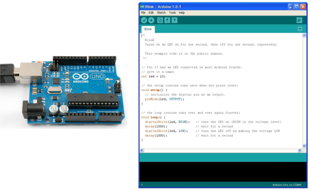 Arduino Lesson 1. Blink